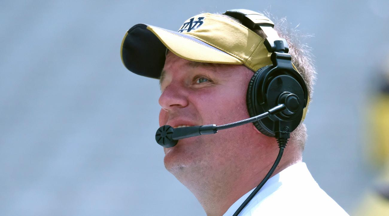 Aggies to hire Notre Dame's Mike Elko