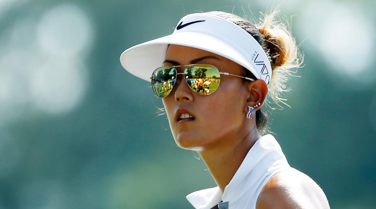 Michelle Wie wears shades on the course. Should you?