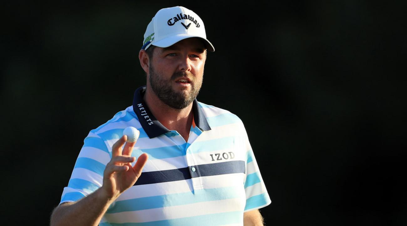 Marc Leishman is a co-leader at the Sentry Tournament of Champions, despite having played only one tournament in the last 10 weeks.