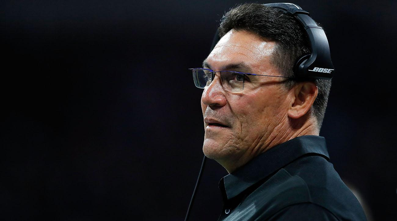 Panthers extend coach Ron Rivera's contract through 2020 season