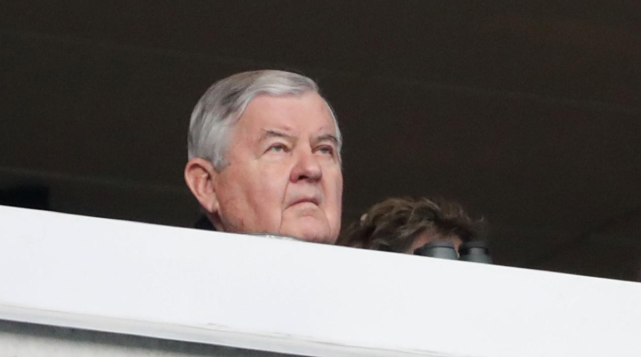jerry richardson final game owner panthers
