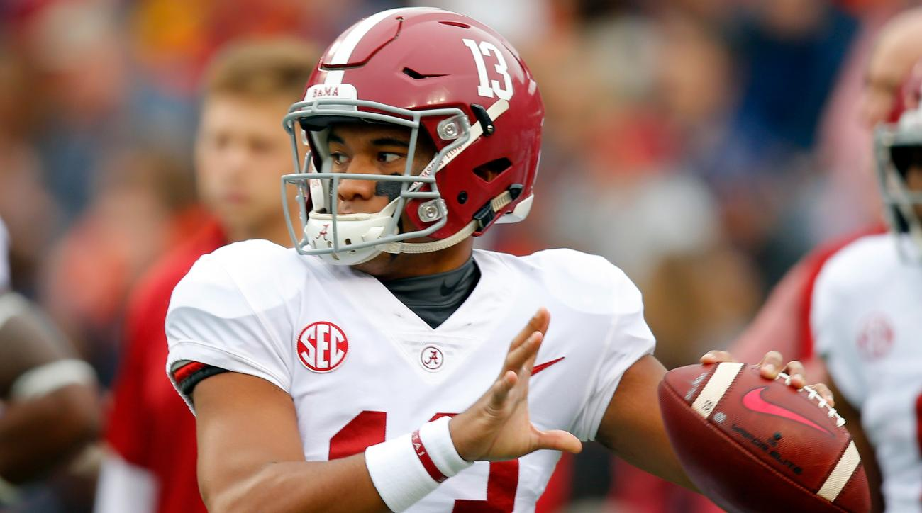 Tua Tagovailoa Hits DeVonta Smith for Insane Alabama Win in OT