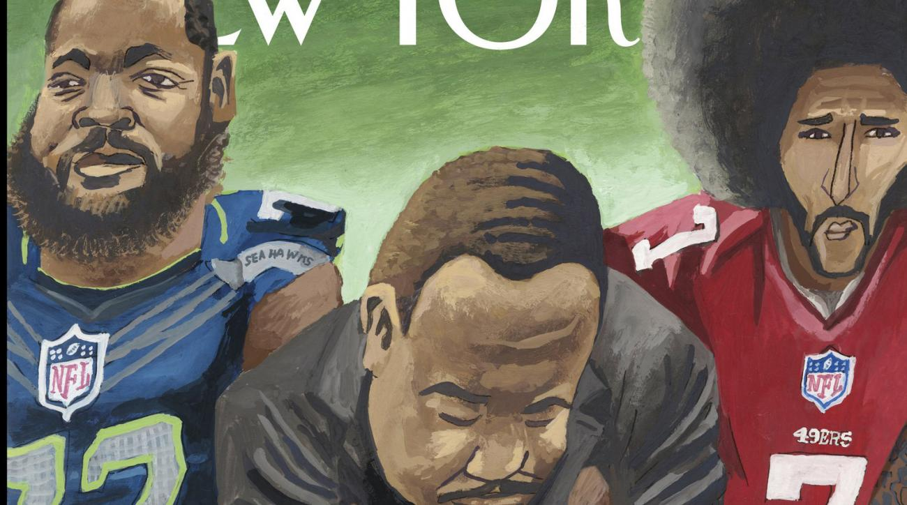 MLK And Kaepernick #TakeAKnee Together On Latest New Yorker Cover