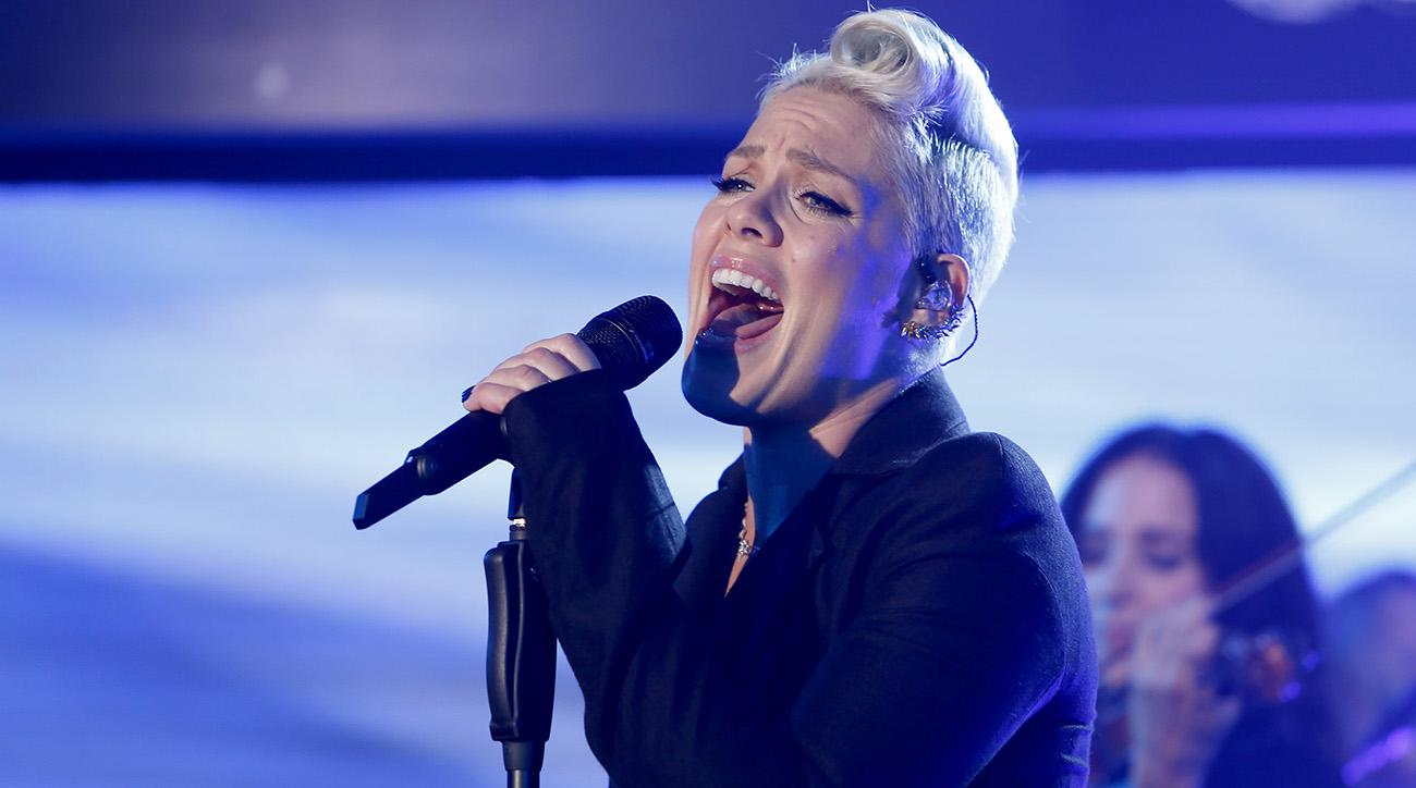 Pink to perform US national anthem at Super Bowl