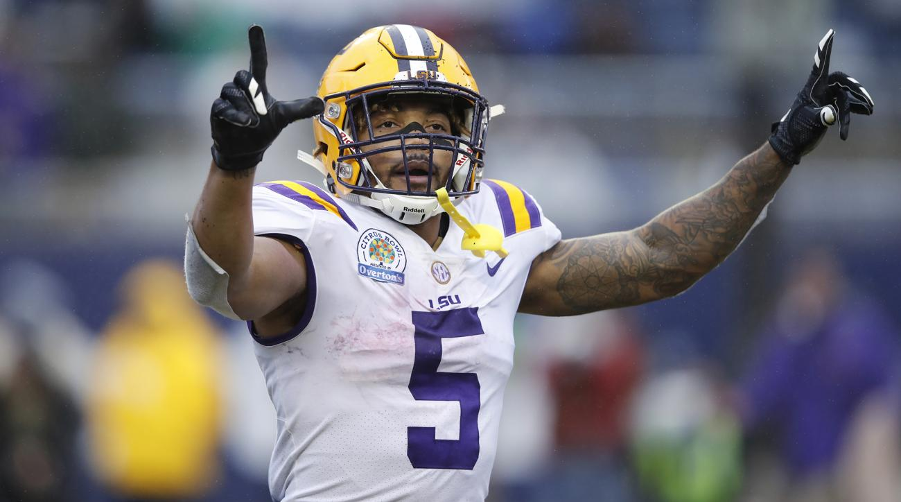 Star LSU RB Derrius Guice declares for the 2018 NFL Draft