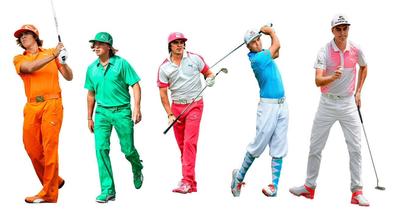 Rickie Fowler Style Evolution