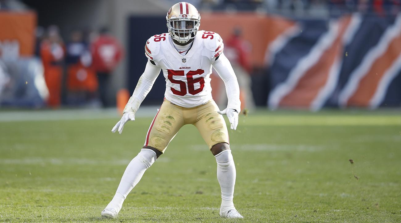 49er linebacker Ruben Foster arrested in Alabama for marijuana possession