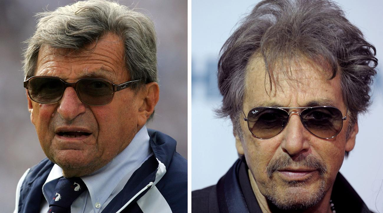 A Joe Paterno biopic starring Al Pacino will debut on HBO this spring.