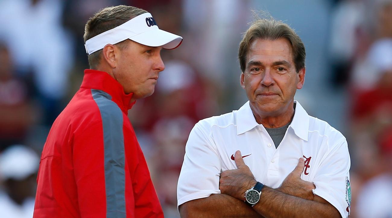 Imagine Tua Tagovailoa running Hugh Freeze's offense; Alabama is, apparently