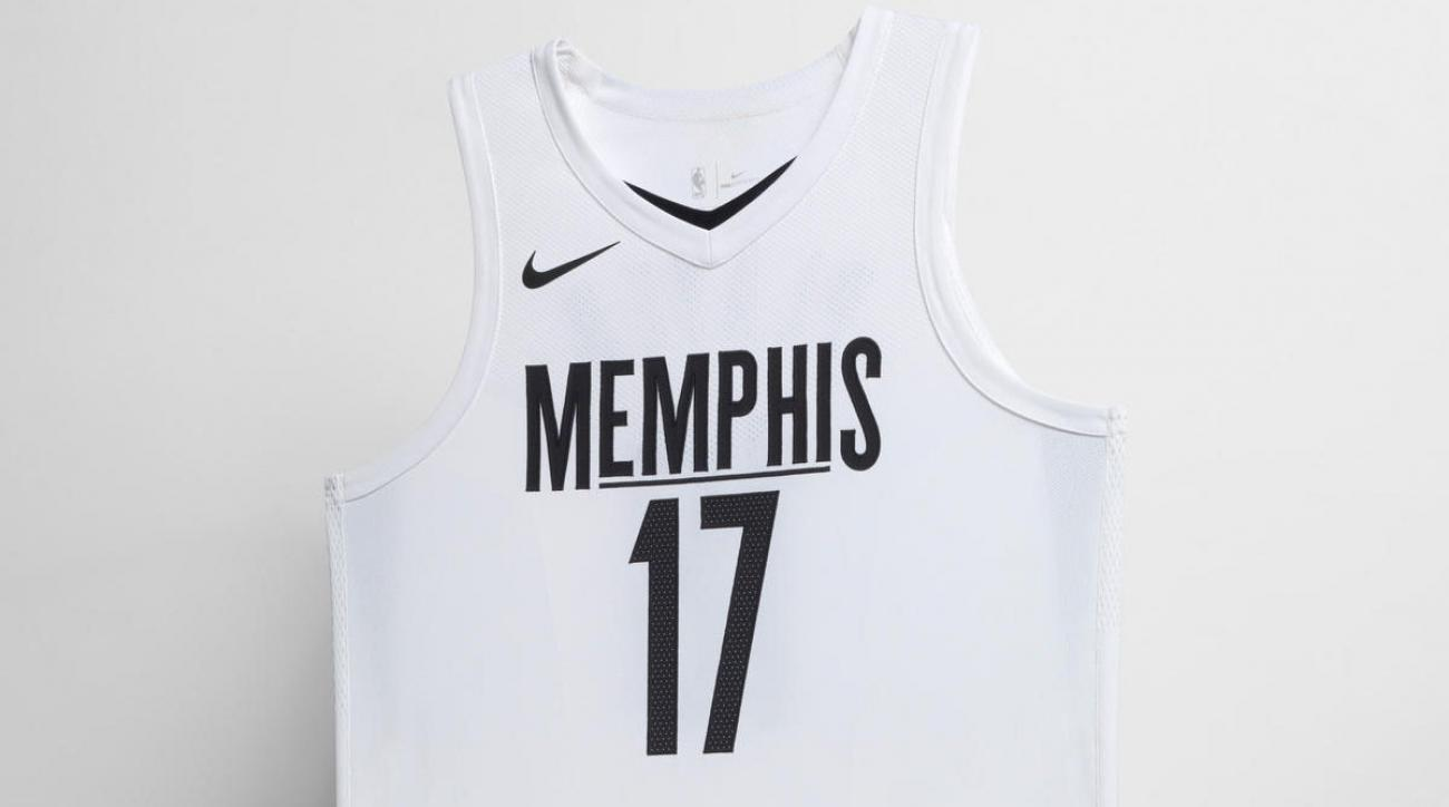 on sale 2cf41 1eeaf Grizzlies MLK uniforms: Memphis City Edition jerseys ...