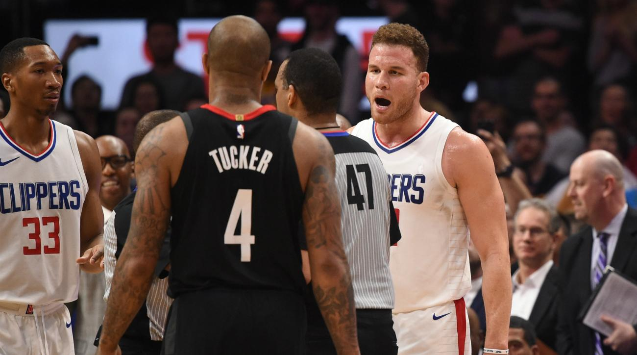 The NBA will investigate the Rockets-Clippers post game incident