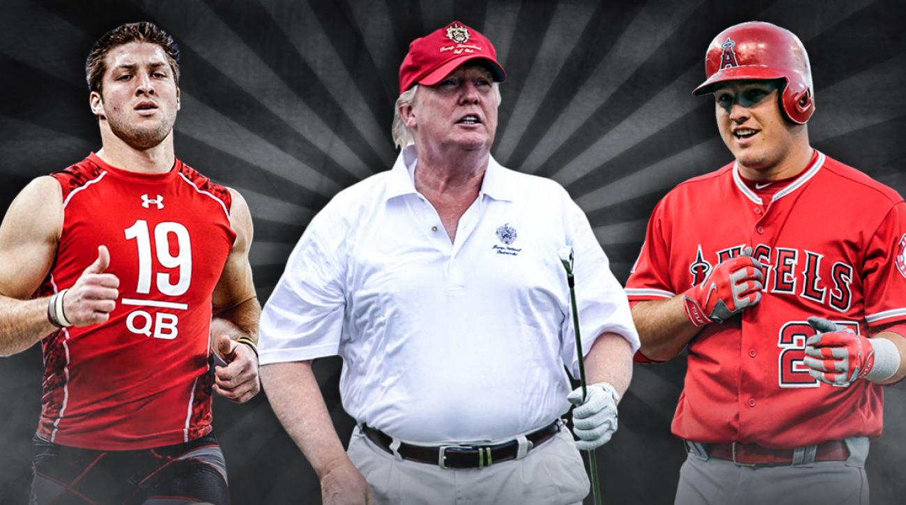 Athletes Who Are the Same Size as Donald Trump