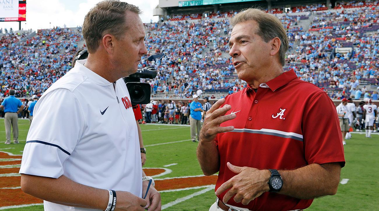 Hugh Freeze Interviews for Alabama Offensive Coordinator Position
