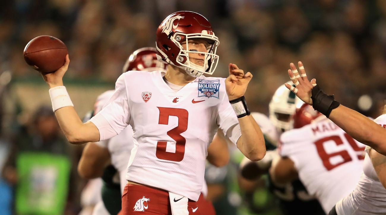 Washington State quarterback Tyler Hilinski has died of an apparent self-inflicted gunshot wound.