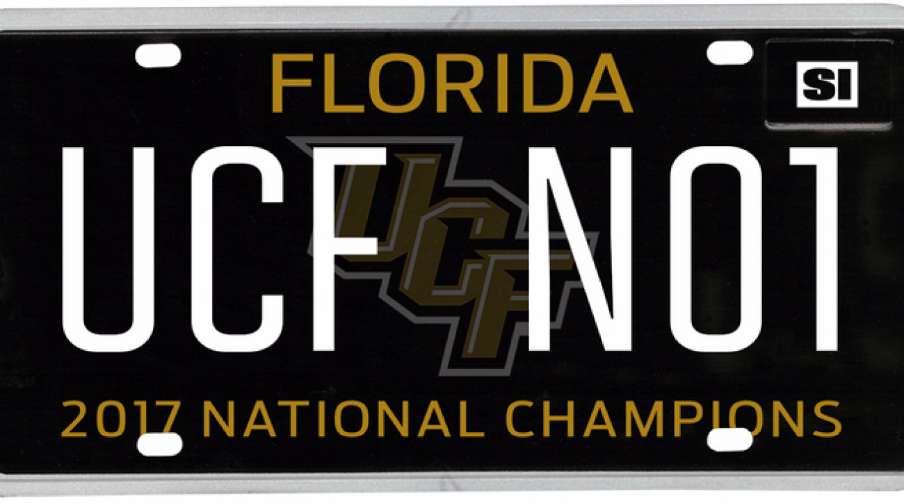 Lawmakers want to make UCF champion license plate