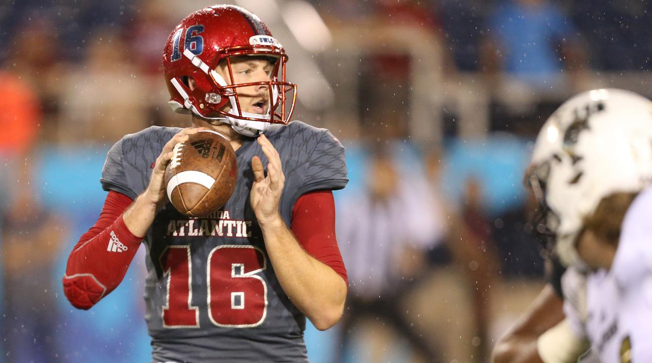 FAU quarterback Jason Driskel says he's ending career
