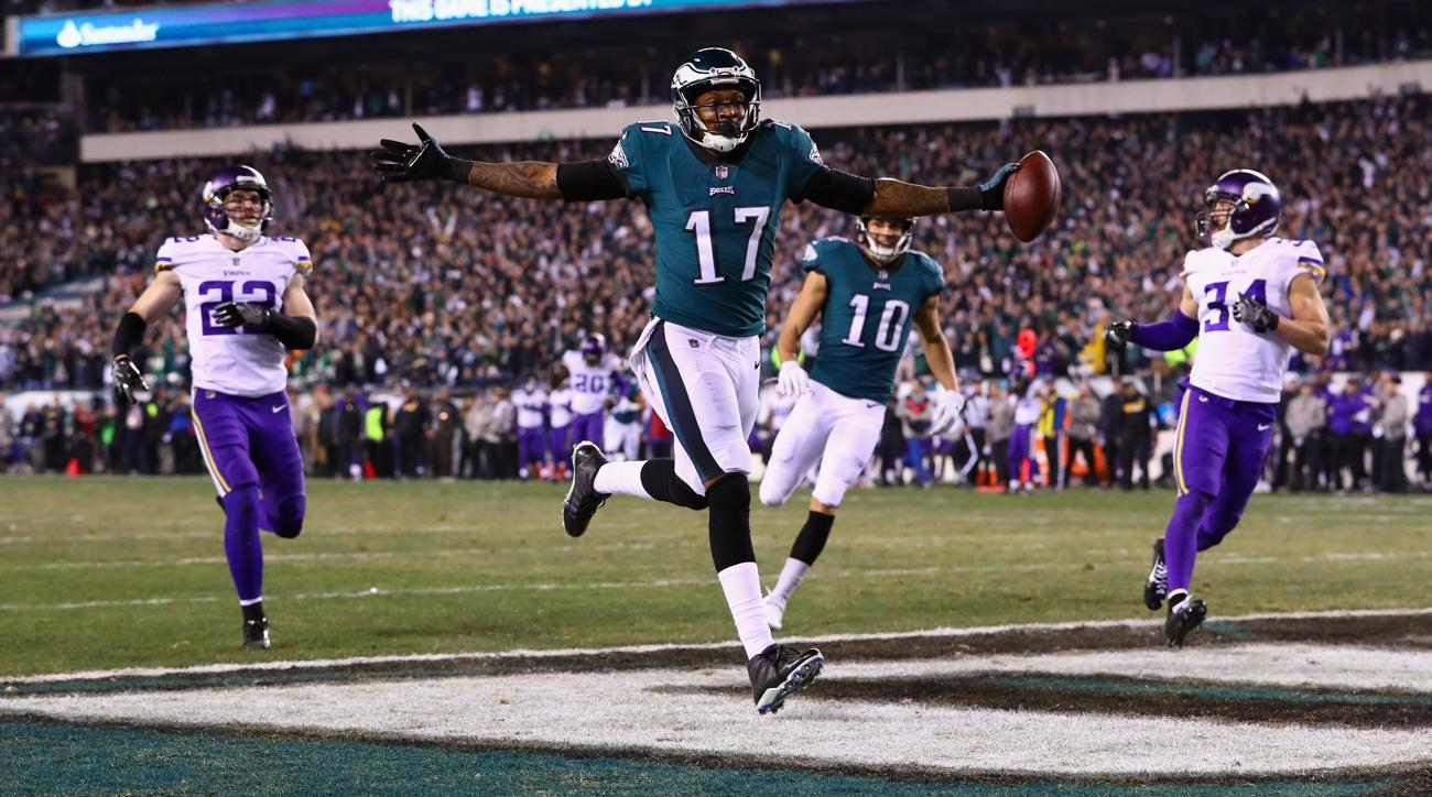 fef7794da Alshon Jeffery s Super Bowl Promise Still Alive As Eagles Win NFC  Championship