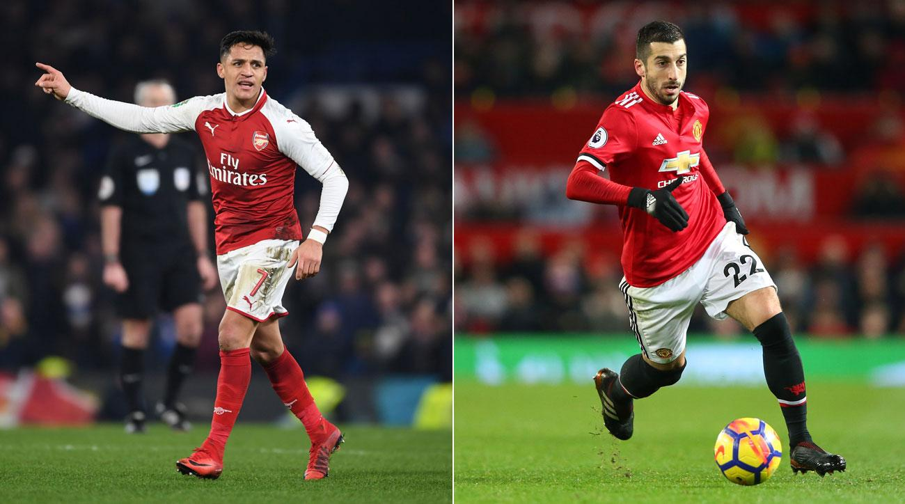 Alexis Sanchez and Henrikh Mkhitaryan are swapping clubs