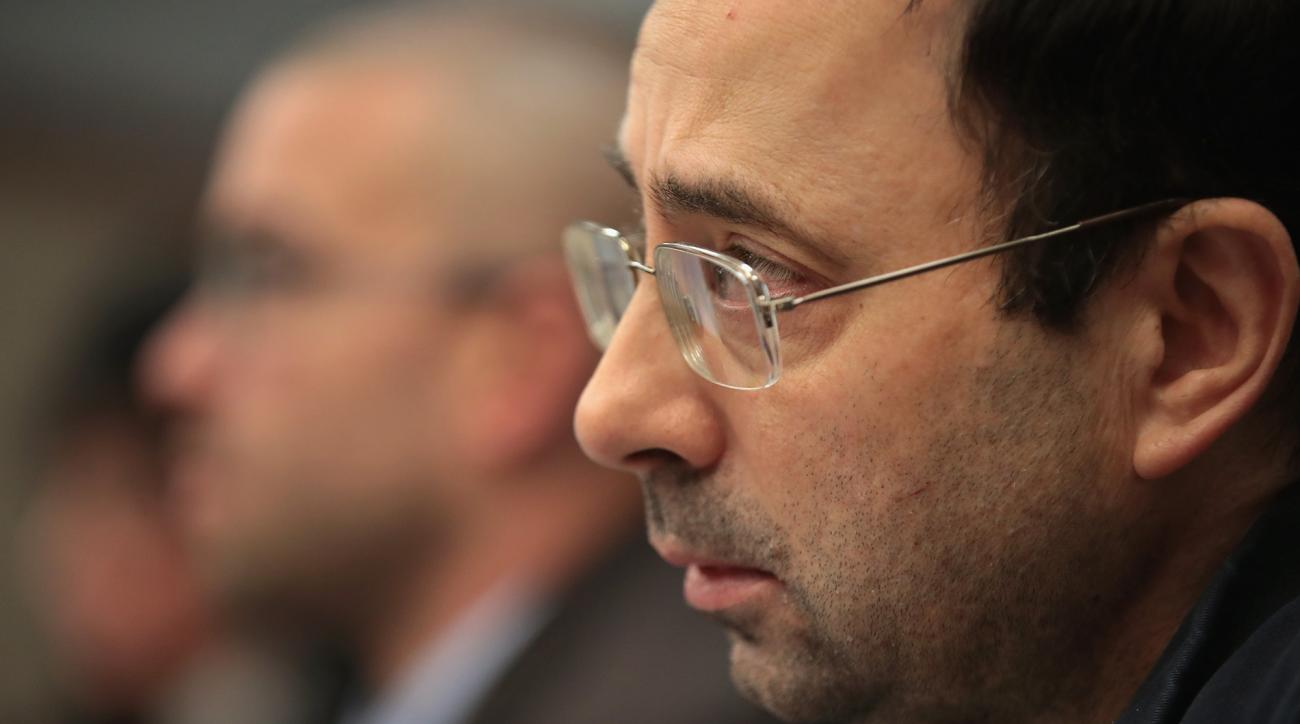 Larry Nassar sentenced to 175 years for abusing gymnasts