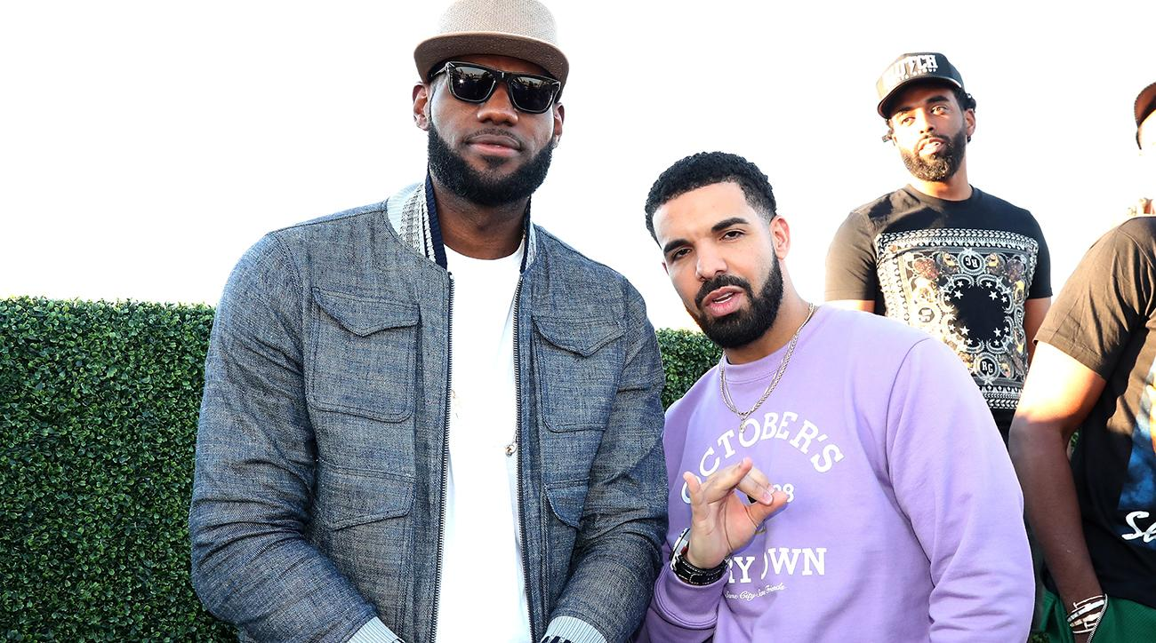 Every Drake Song Made with regard to lebron james: drake making song to honor cavs star's 30,000 points