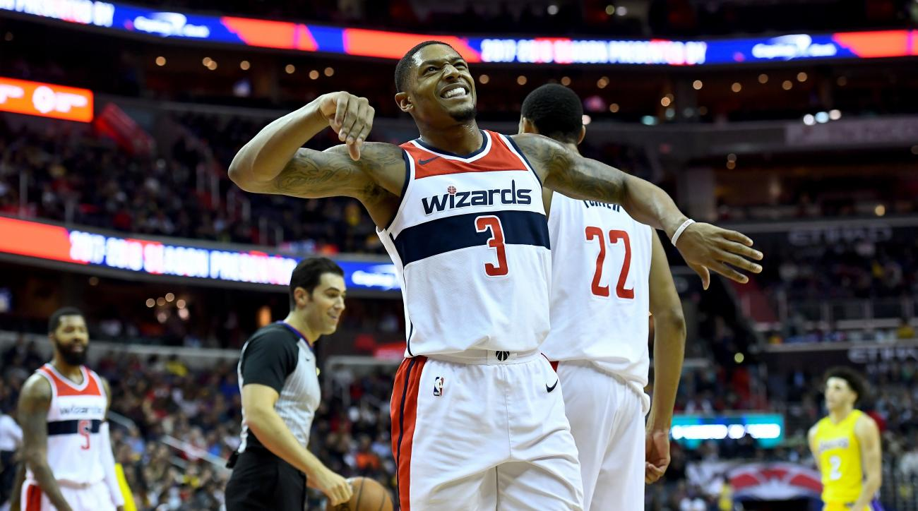 Beal leads short-handed Wizards to victory over Raptors