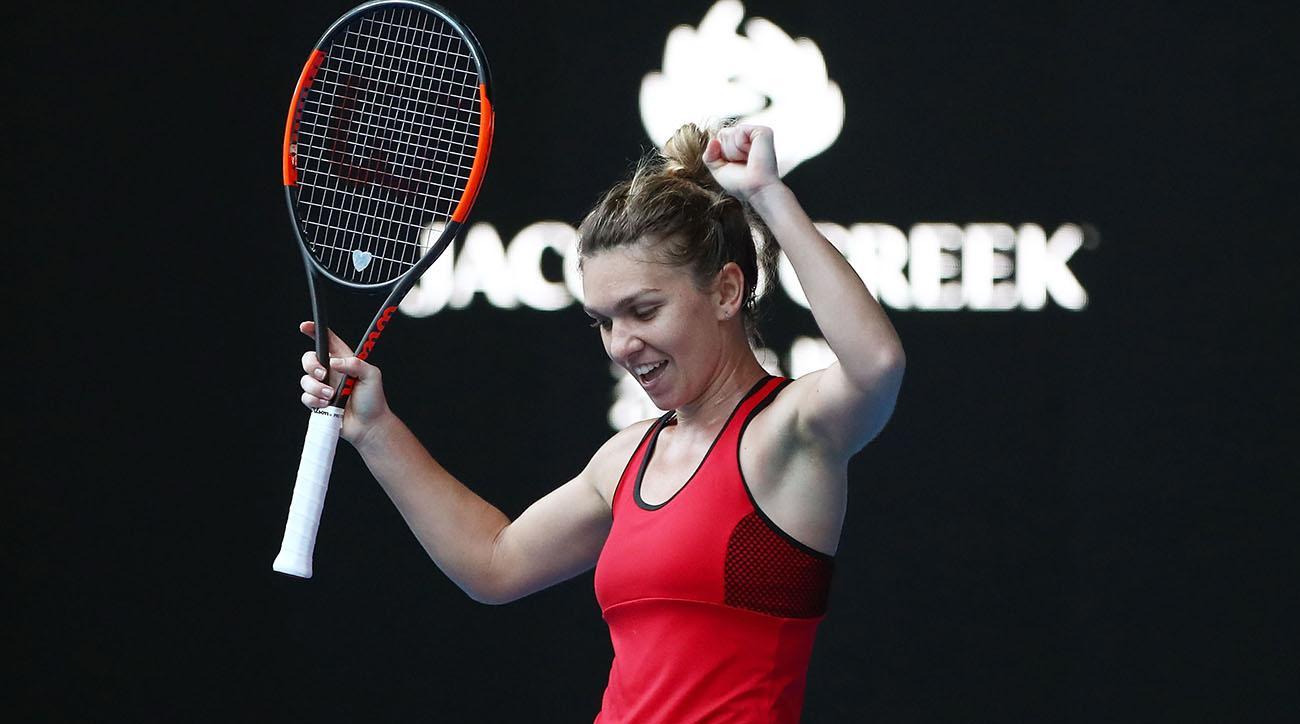 caroline wozniacki simona halep australian open final live stream watch online time channel