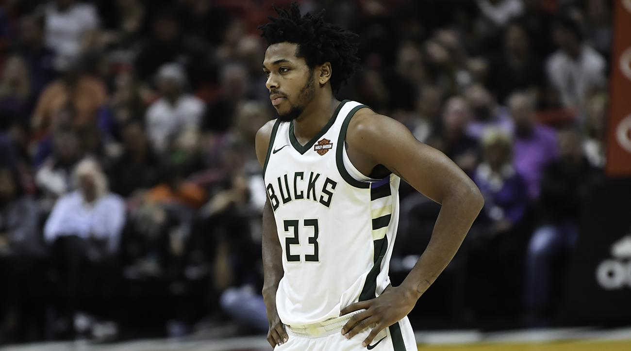 Bucks guard Sterling Brown was arrested and tased early Friday morning.