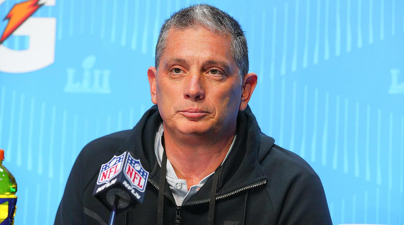 Eagles defensive coordinator Jim Schwartz