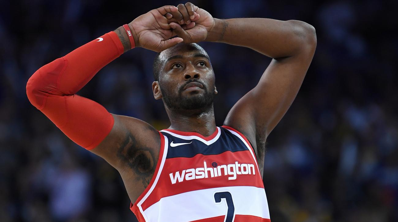 With out Wall, Wizards finish Thunder's successful streak 102-96