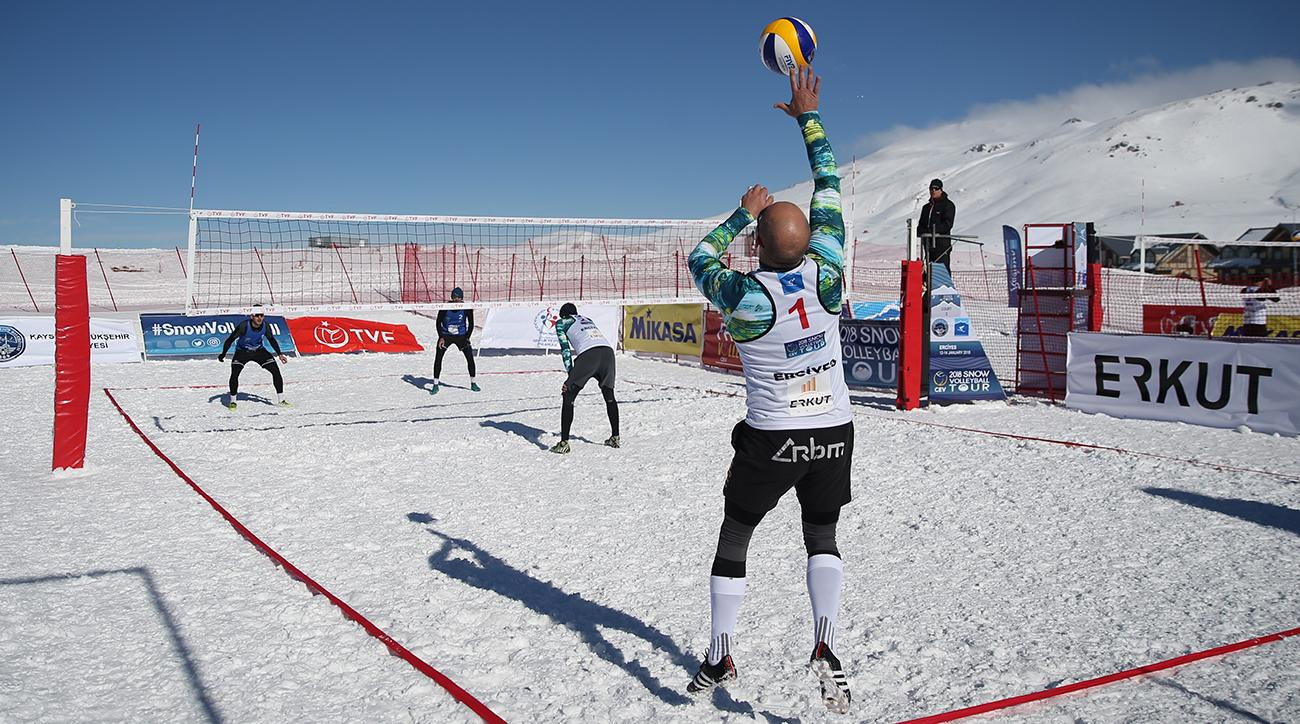 PyeongChang Olympics: Snow Volleyball Exhibition Set