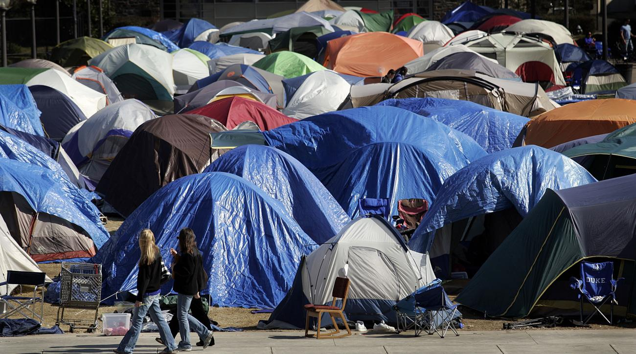 Duke's Krzyzewskiville Tent Village Forced to Shut Down Due to Flu Epidemic