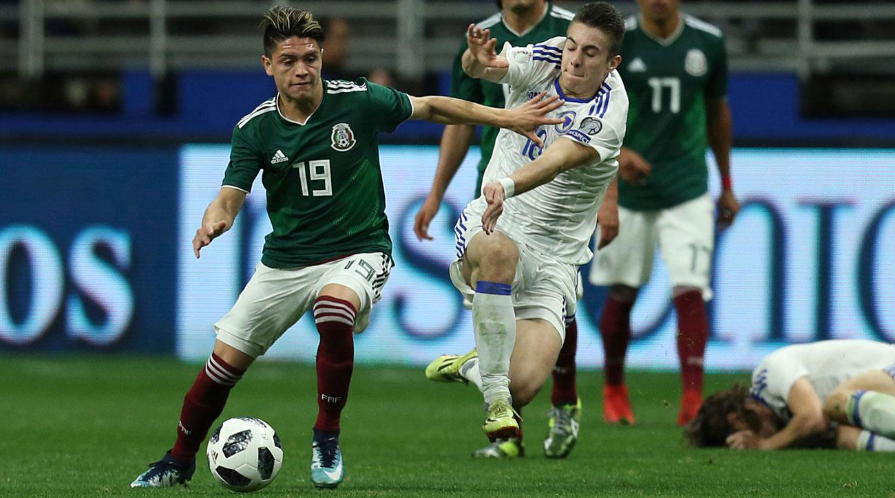 Jonathan Gonzalez makes his Mexico debut vs. Bosnia-Herzegovina