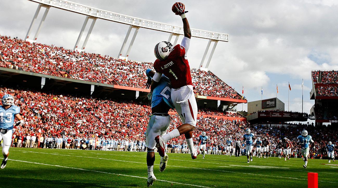 more photos ae52c 49b5d Tom Brady, Alshon Jeffery, Super Bowl heros as college stars ...