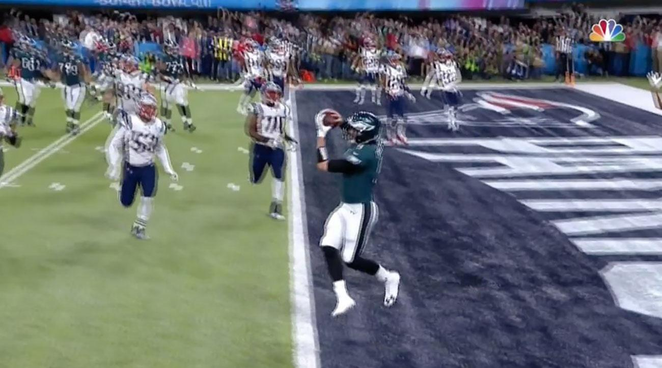 nick foles touchdown catch