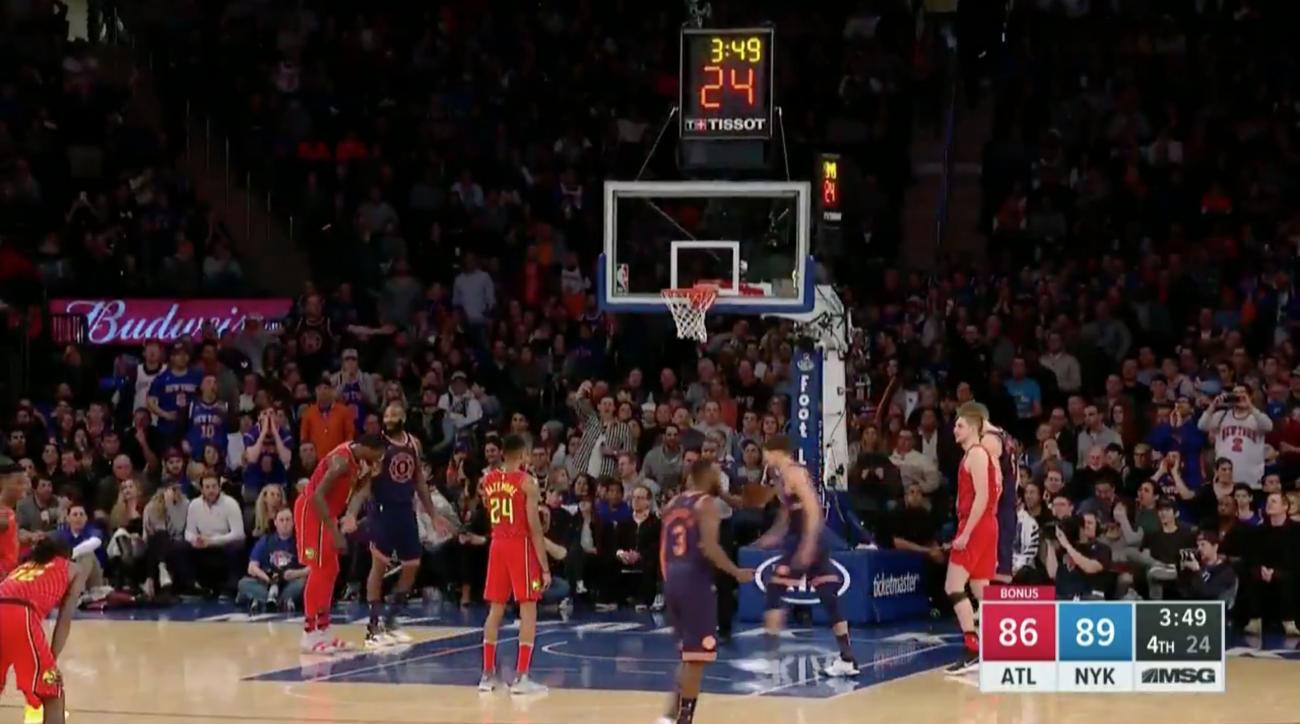 New York Knicks vs. Atlanta Hawks - 2/4/18 NBA Pick, Odds, and Prediction