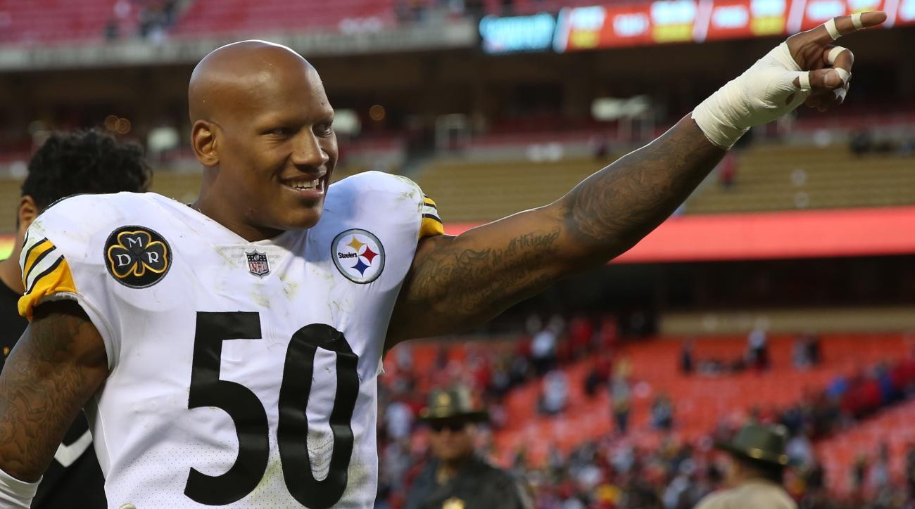 Ryan Shazier regains movement in legs, making 'incredible progress'