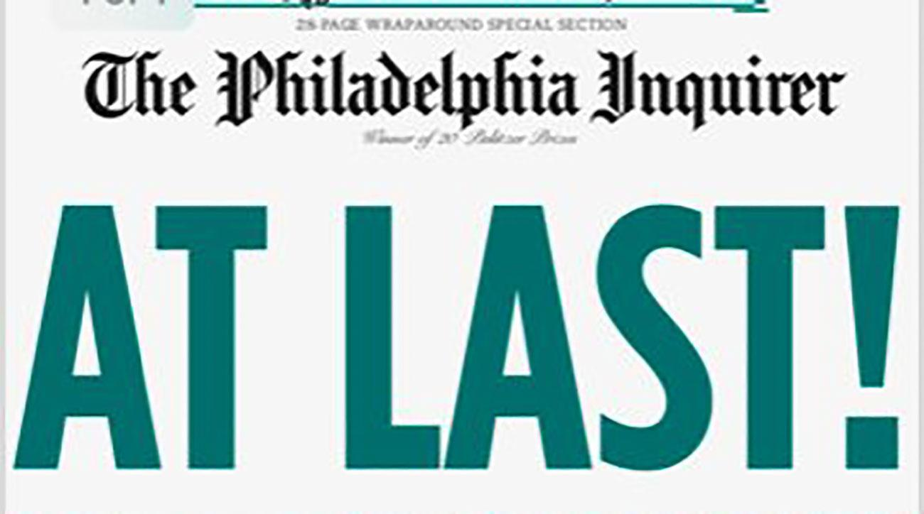 Eagles\' Super Bowl win celebrated on newspaper front pages | SI.com