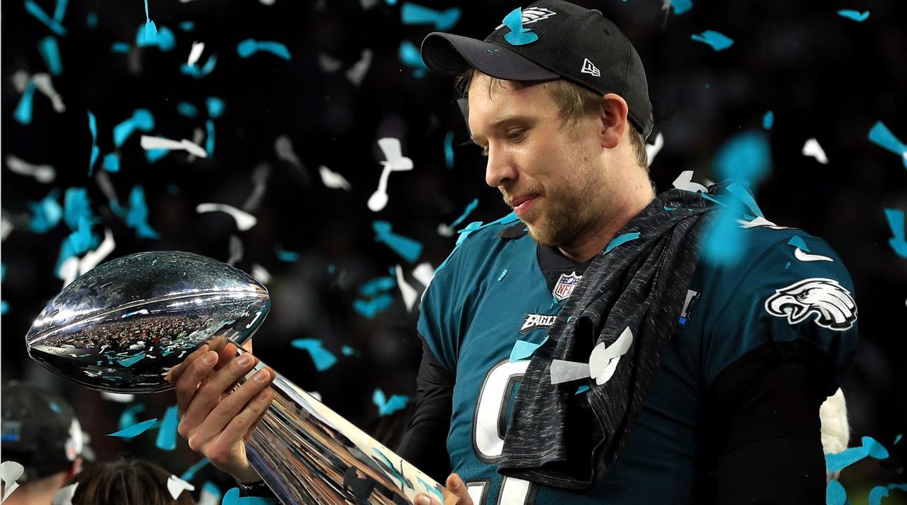 03f508f9df4 Philadelphia Eagles beat Patriots to win Super Bowl 52
