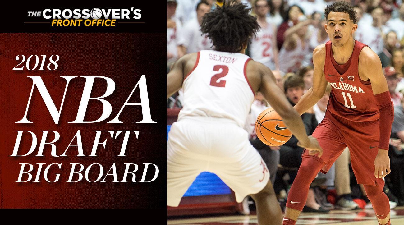 4277290ad 2018 NBA Draft  Trae Young Headlines Loaded Lottery in Big Board 4.0 ...