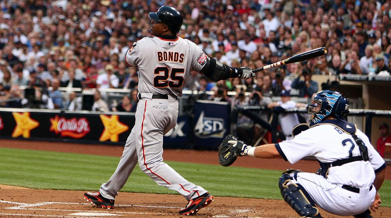 barry bonds jersey number retired