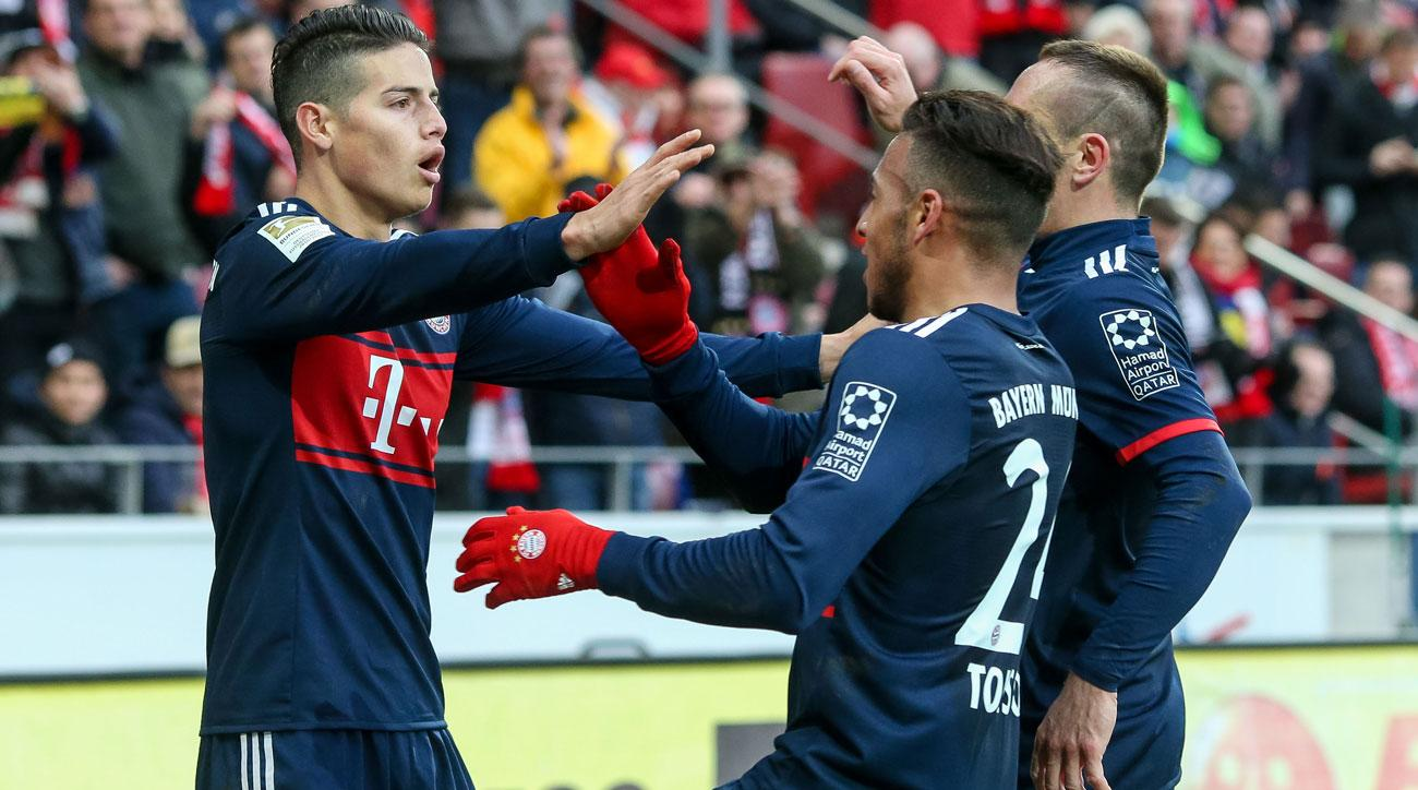 Bayern Munich hit Paderborn for six goals to reach German Cup semifinal