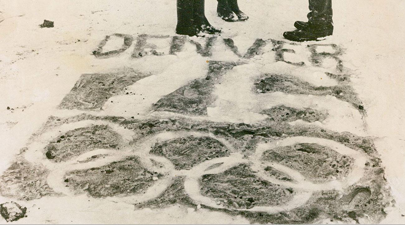 Denver Olympics 1976 Winter Games