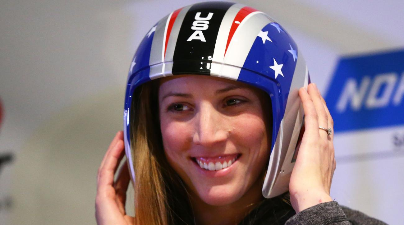 Utica's Erin Hamlin named Olympic flag bearer for Team USA