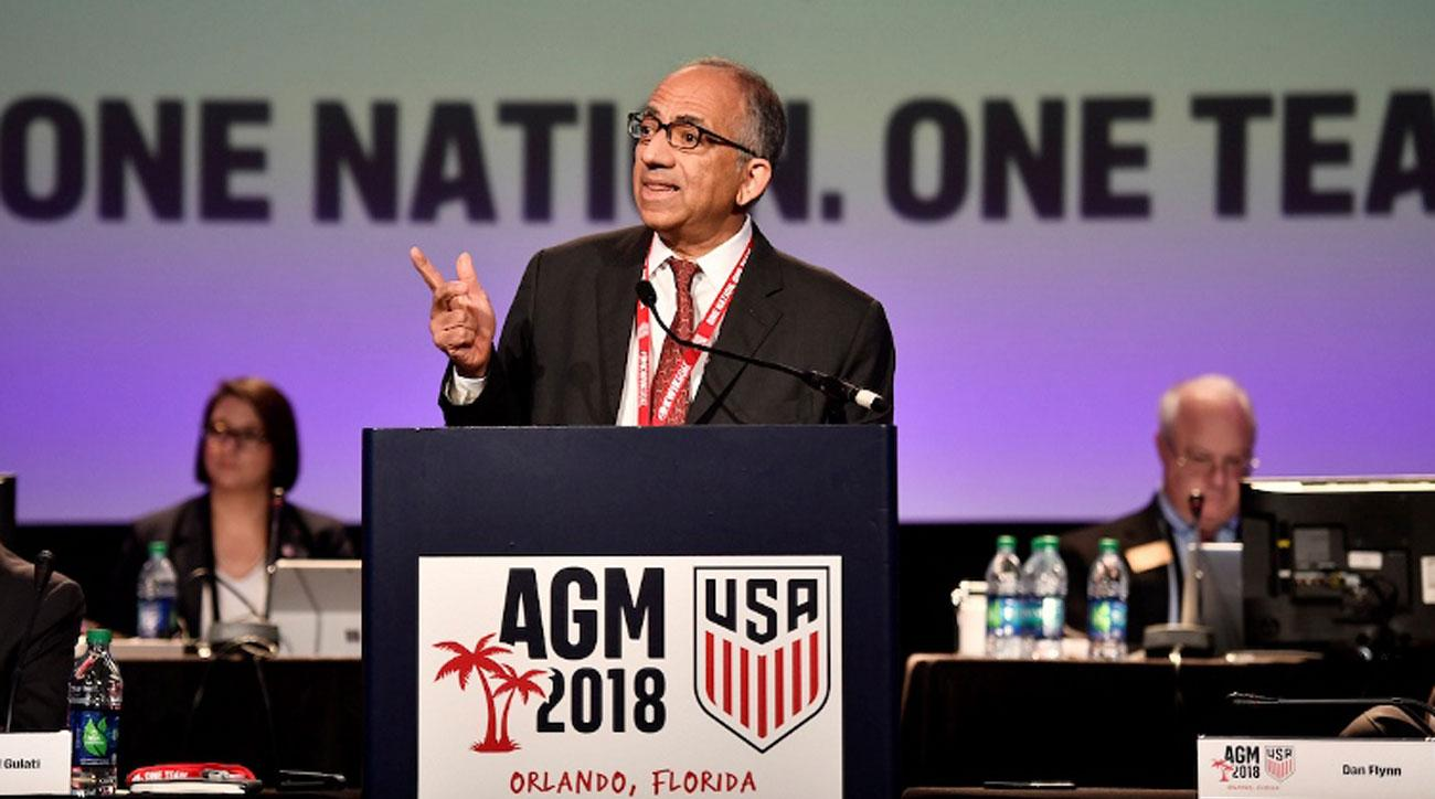 U.S.  soccer elects Carlos Cordeiro as next president