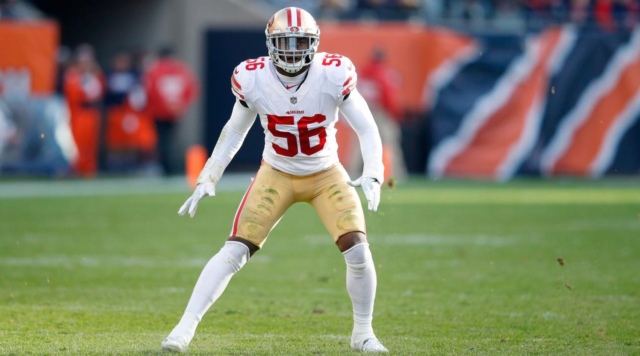 49ers' Reuben Foster arrested for suspected domestic violence