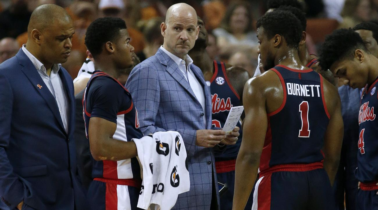 Kennedy out as Ole Miss men's basketball coach after season