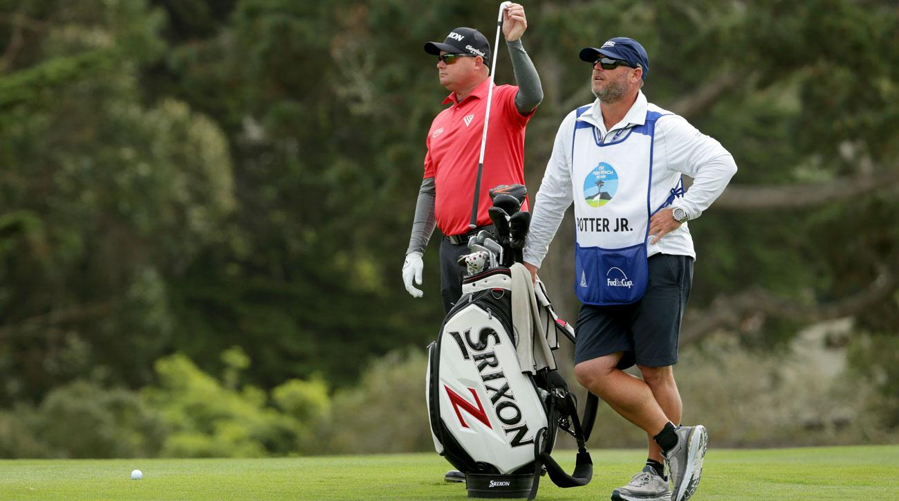 Ted Potter Jr proud of surprise win at AT&T Pebble Beach Pro