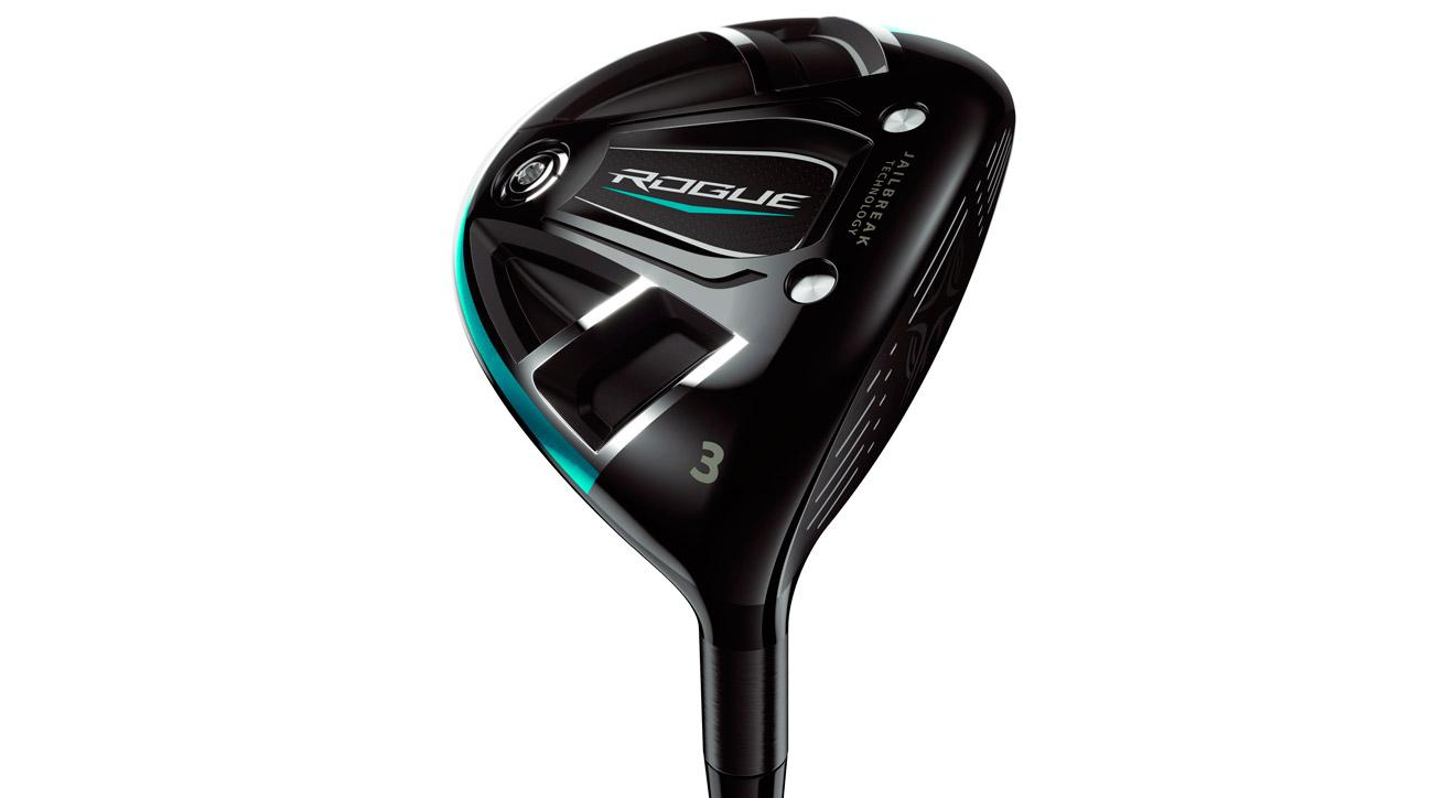 The Callaway Rogue fairway wood, the first fairway wood ever with Jailbreak technology, is game-changing long.