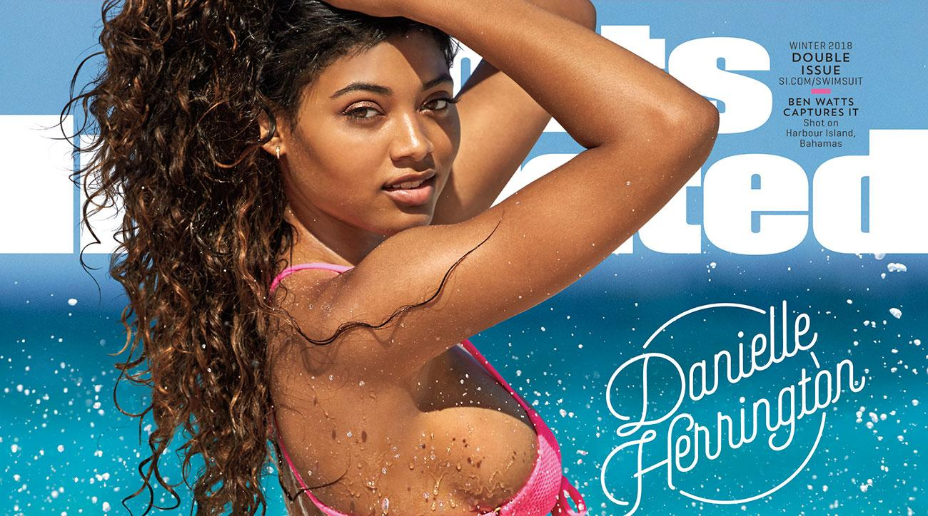Danielle Herrington becomes 3rd black woman on Sports Illustrated swimsuit cover