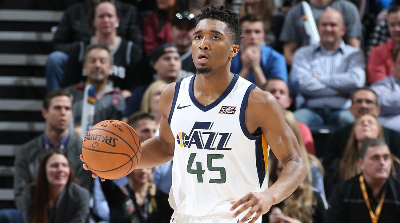 42e6a18f70e Donovan Mitchell Q&A: '365 Days Ago I Was Watching All-Star in My Dorm Room'